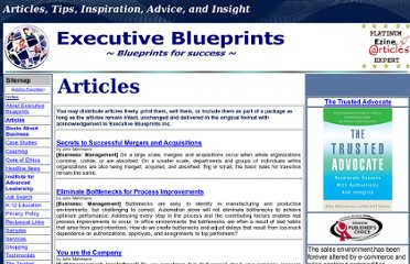 http://www.executiveblueprints.com/articles.htm