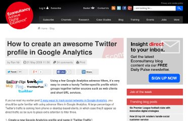 http://econsultancy.com/blog/3858-how-to-create-an-awesome-twitter-profile-in-google-analytics