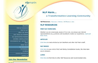 http://nlpmarin.com/nlp-resources/