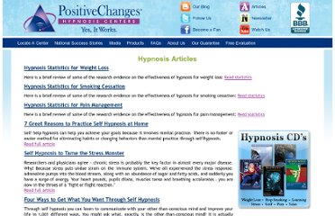 http://www.positivechanges.com/articles/hypnosis-articles.php