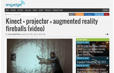 http://www.engadget.com/2011/01/17/kinect-projector-augmented-reality-fireballs-video/