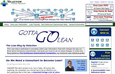 http://www.velaction.com/products-services/gotta-go-lean-blog/