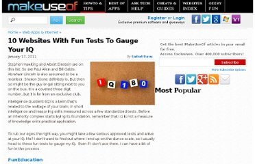 http://www.makeuseof.com/tag/10-websites-fun-tests-gauge-iq/