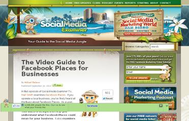 http://www.socialmediaexaminer.com/facebook-places-business-guide/