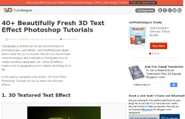 http://www.1stwebdesigner.com/tutorials/3d-text-effect-photoshop-tutorials/