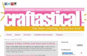 http://www.craftastical.com/2009/08/tutorial-baby-clothes-quilt-from-start.html