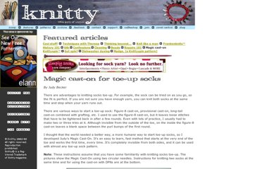 http://www.knitty.com/ISSUEspring06/FEATmagiccaston.html