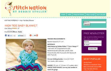 http://www.stitchnationyarn.com/Patterns/free-pattern-high-tide-baby-blanket.html