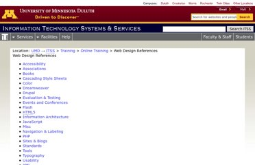 http://www.d.umn.edu/itss/support/Training/Online/webdesign/