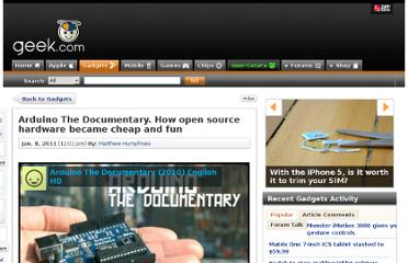 http://www.geek.com/articles/gadgets/arduino-the-documentary-how-open-source-hardware-became-cheap-and-fun-2011018/