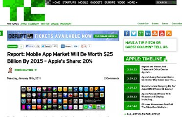 http://techcrunch.com/2011/01/18/report-mobile-app-market-will-be-worth-25-billion-by-2015-apples-share-20/
