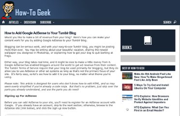 http://www.howtogeek.com/howto/22559/how-to-add-google-adsense-to-your-tumblr-blog/