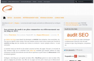 http://www.ya-graphic.com/2011/01/optimiser-visibilite-blog-wordpress/