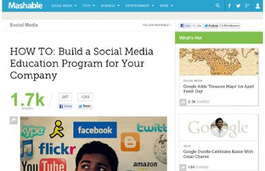 http://mashable.com/2011/01/18/social-media-training/