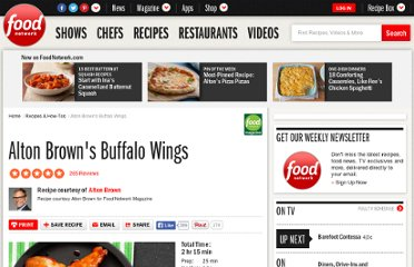 http://www.foodnetwork.com/recipes/alton-brown/alton-browns-buffalo-wings-recipe/index.html