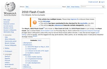 http://en.wikipedia.org/wiki/2010_Flash_Crash