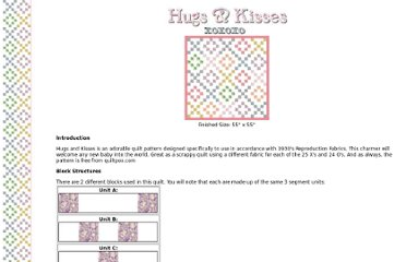 http://www.quiltpox.com/Patterns/Hugs/
