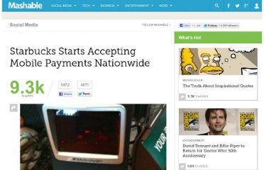 http://mashable.com/2011/01/18/starbucks-mobile-payments/