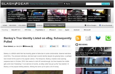 http://www.slashgear.com/banksys-true-identity-listed-on-ebay-subsequently-pulled-18127040/