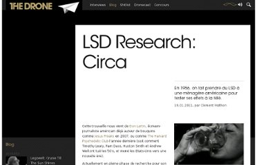 http://www.the-drone.com/magazine/lsd-research-circa/