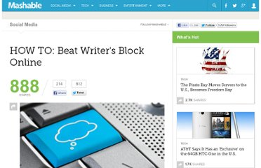 http://mashable.com/2011/01/19/beat-writers-block/