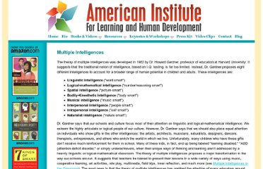 http://www.thomasarmstrong.com/multiple_intelligences.php