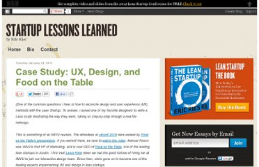 http://www.startuplessonslearned.com/2011/01/case-study-ux-design-and-food-on-table.html
