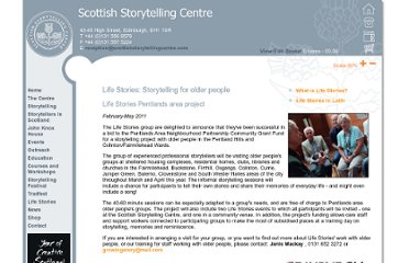 http://www.scottishstorytellingcentre.co.uk/lifestories/life_stories.asp
