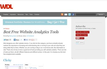 http://webdesignledger.com/tools/best-free-website-analytics-tools