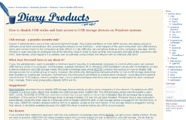 http://diaryproducts.net/about/operating_systems/windows/disable_usb_sticks