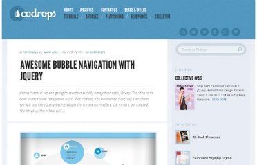 http://tympanus.net/codrops/2010/04/29/awesome-bubble-navigation-with-jquery/