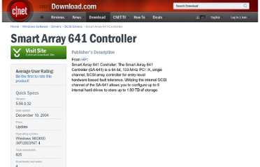 http://download.cnet.com/Smart-Array-641-Controller/3000-18492_4-74055.html