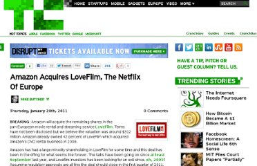 http://eu.techcrunch.com/2011/01/20/amazon-acquires-lovefilm-the-netflix-of-europe/