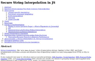 http://google-caja.googlecode.com/svn/changes/mikesamuel/string-interpolation-29-Jan-2008/trunk/src/js/com/google/caja/interp/index.html
