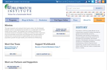 http://www.worldwatch.org/mission
