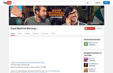 http://www.youtube.com/user/rhettandlink2