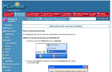 http://www.pcastuces.com/pratique/windows/services/page2.htm