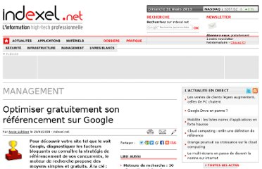 http://www.indexel.net/management/optimiser-gratuitement-son-referencement-sur-google.html