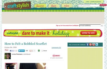http://www.craftstylish.com/item/10518/how-to-felt-a-bobbled-scarflet