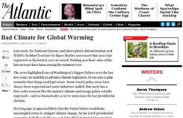 http://www.theatlantic.com/politics/archive/2011/01/bad-climate-for-global-warming/69926/