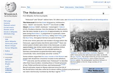 http://en.wikipedia.org/wiki/The_Holocaust