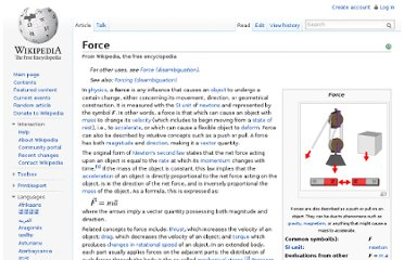 http://en.wikipedia.org/wiki/Force