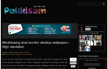 http://blog.pokkisam.com/content/mindblowing-dual-monitor-desktop-wallpapers-high-resolution