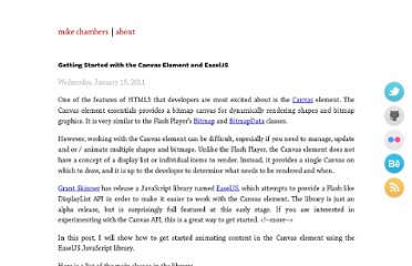 http://www.mikechambers.com/blog/2011/01/19/getting-started-with-the-canvas-element-and-easeljs/