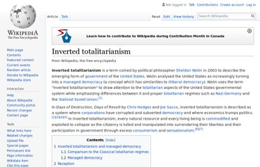 http://en.wikipedia.org/wiki/Inverted_totalitarianism