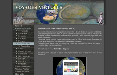 http://www.voyages-virtuels.eu/voyages/arts/index.html