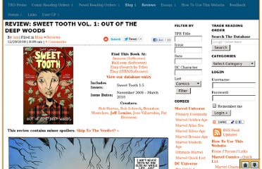 http://www.tradereadingorder.com/blog/review-sweet-tooth-vol-1-out-of-the-deep-woods/