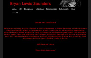 http://bryanlewissaunders.org/drugs/