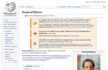 http://fr.wikipedia.org/wiki/Howard_Bloom