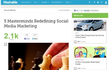 http://mashable.com/2011/01/21/social-media-marketing-masterminds/